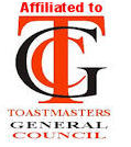affiliated with Toastmasters general council.